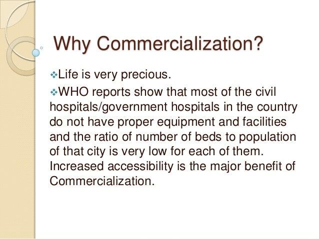 commercializing education essay
