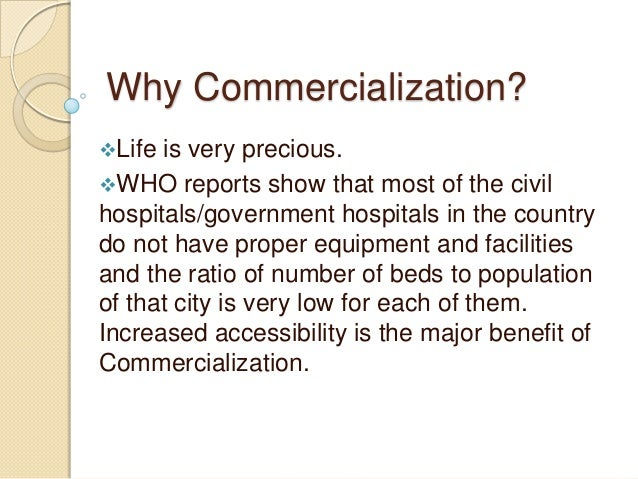 commercialization of health care good or — the commercialization of prepaid group health care | prepaid group health care began in the 1940s as an insurgent, even radical form of medicine  must good hmos go bad — the .