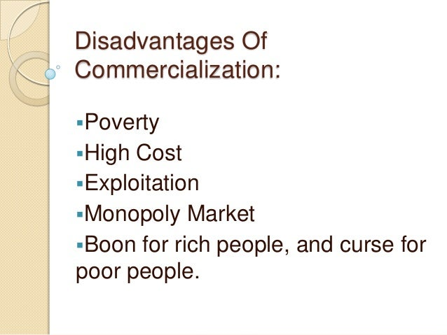 Commercialization of Health Care: Good or Bad? Essay