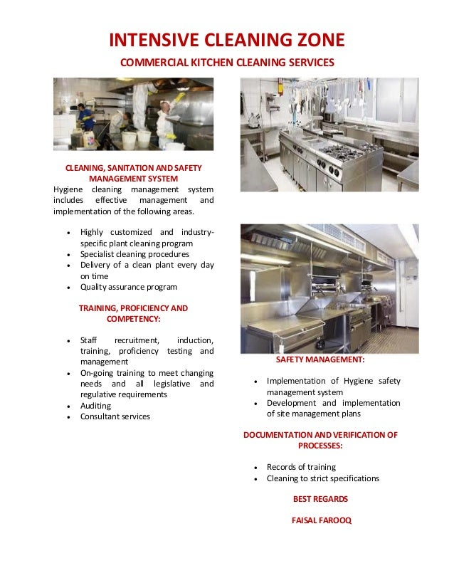 commercial kitchen cleaning services