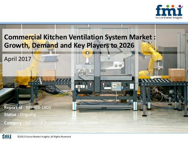 Commercial Kitchen Ventilation System Market : Key Players, Growth, A…