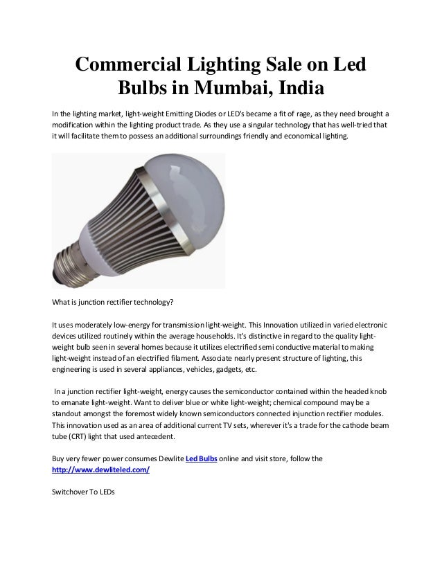 Commercial lighting sale on led bulbs in mumbai india commercial lighting sale on led bulbs in mumbai india in the lighting market aloadofball Gallery