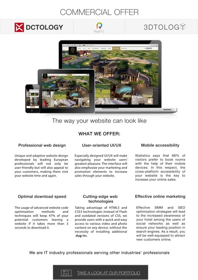 Unique and adaptive website design  developed by leading European  professionals will not only be  user-friendly but will ...