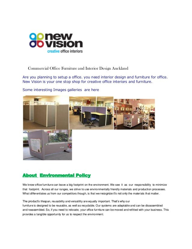 Commercial Office Furniture and Interior Design Auckland Are you planning to setup a office. you need interior design and ...