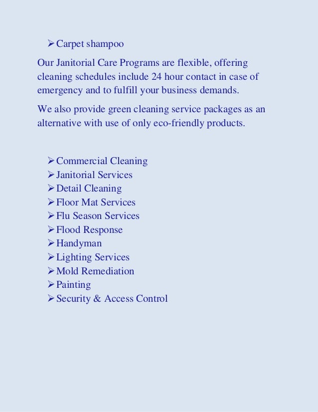 Commercial Office Janitorial Post Construction Move In Move Out H