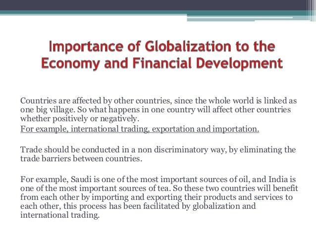effects of globalization in saudi arabia China, japan, mexico, saudi arabia, south korea, and the usa  competing  theories of the impact of globalization have permeated the literature for 20 years, .