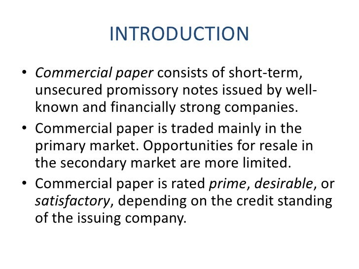 commercial paper terms conditions Q3 1989 to q2 2015 about instruments, mmmf, issues, commercial paper,  canada, commercial, and currency  terms and conditions of use are available  at.