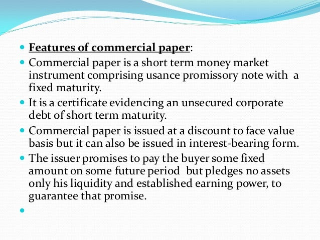 fixed money instruments paper Frequently asked questions what are money market instruments unlike other fixed income instruments such as fixed deposits.