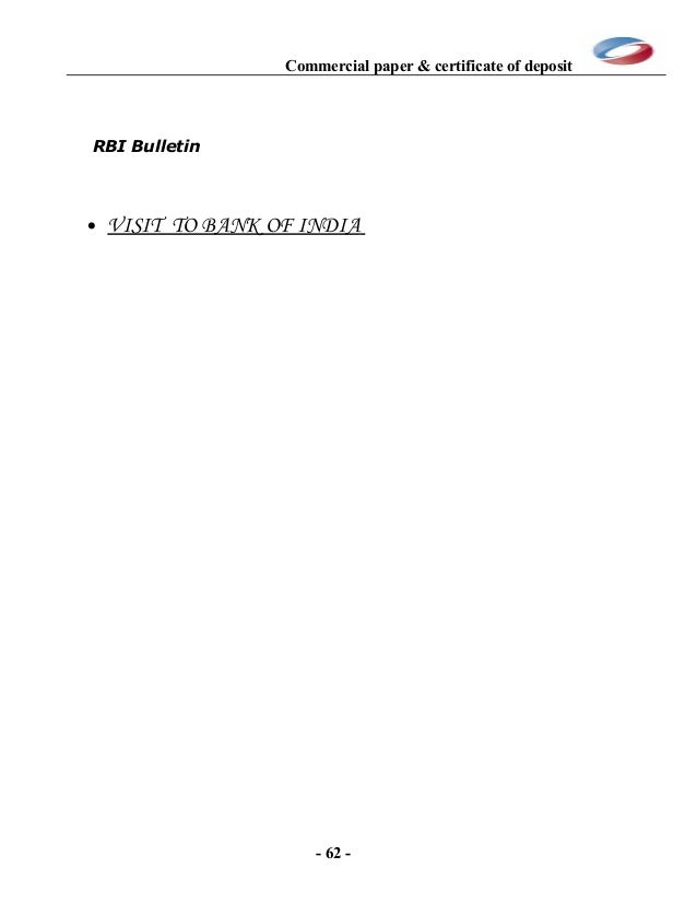 commercial paper rate research