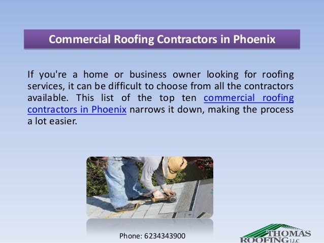 Exceptional Commercial Roofing Contractors In Phoenix If Youu0027re A Home Or Business  Owner Looking For ...
