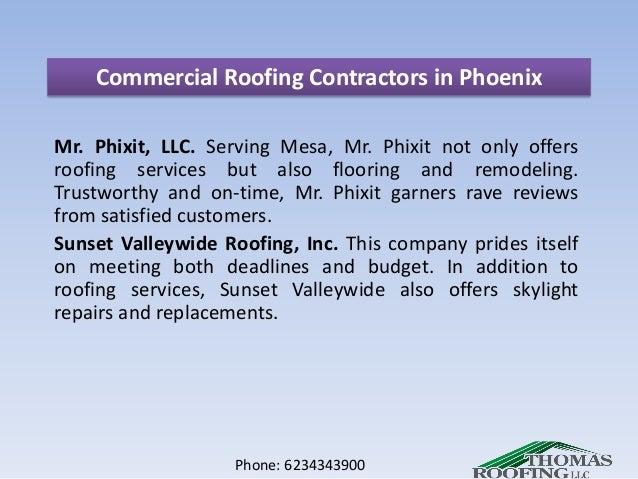 Phone: 6234343900; 3. Commercial Roofing Contractors In Phoenix ...