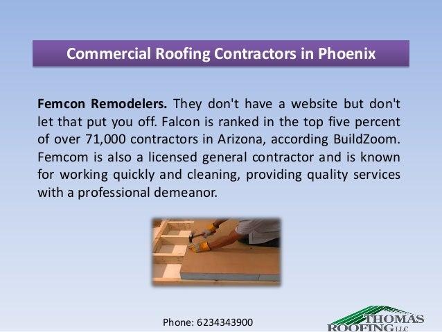 Phone: 6234343900; 6. Commercial Roofing Contractors In Phoenix ...