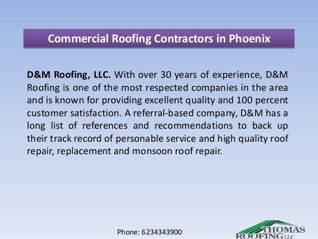 Charming Phone: 6234343900; 7. Commercial Roofing Contractors In Phoenix ...