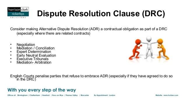 alternative dispute resolution the national arbitration forum
