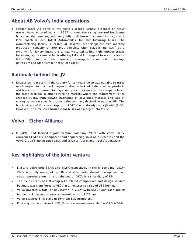 Commercial vehicle industry initiation report[1]