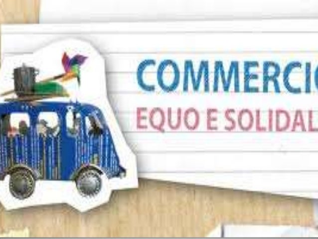 Commercio equo solidale