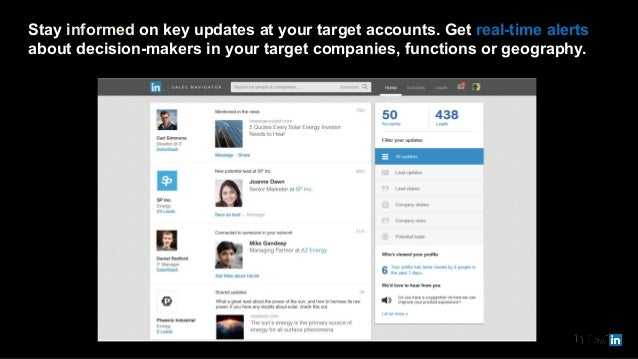 Stay informed on key updates at your target accounts. Get real-time alerts about decision-makers in your target companies,...