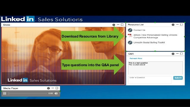 Type questions into the Q&A panel Housekeeping Download Resources from Library