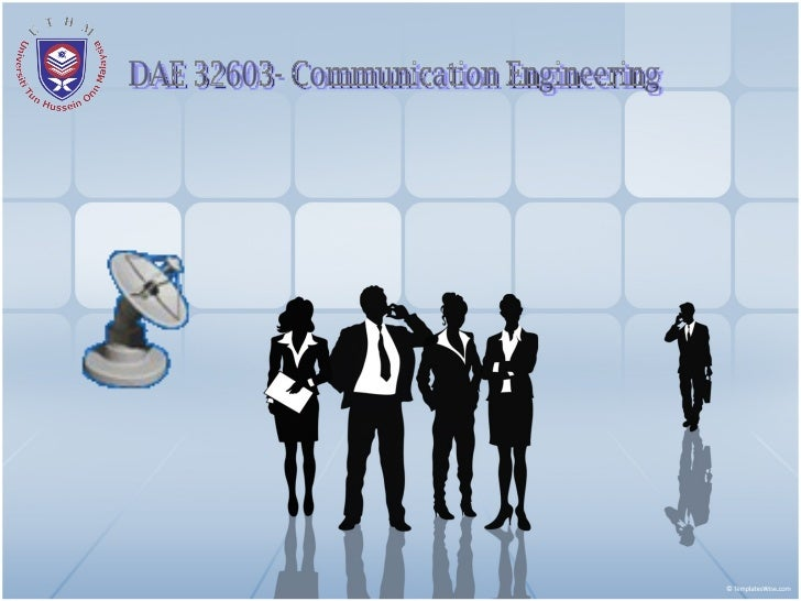DAE 32603- Communication Engineering