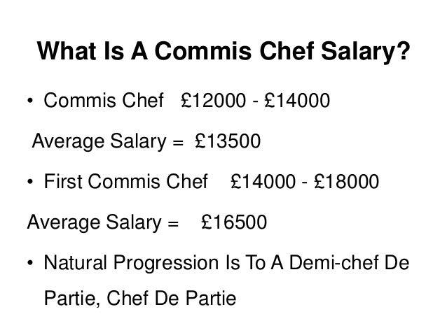 what is a commis chef  a job description and definition