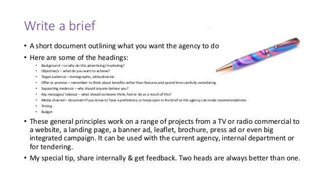 How to Write a PR Brief
