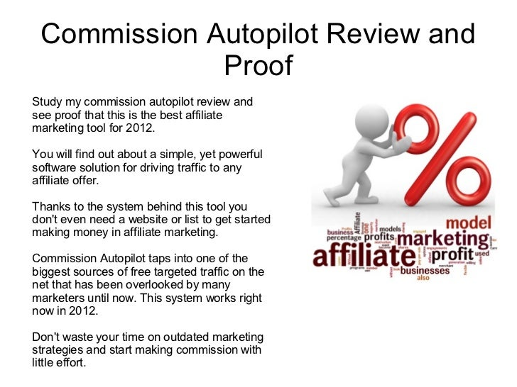 Commission Autopilot Review and             ProofStudy my commission autopilot review andsee proof that this is the best a...