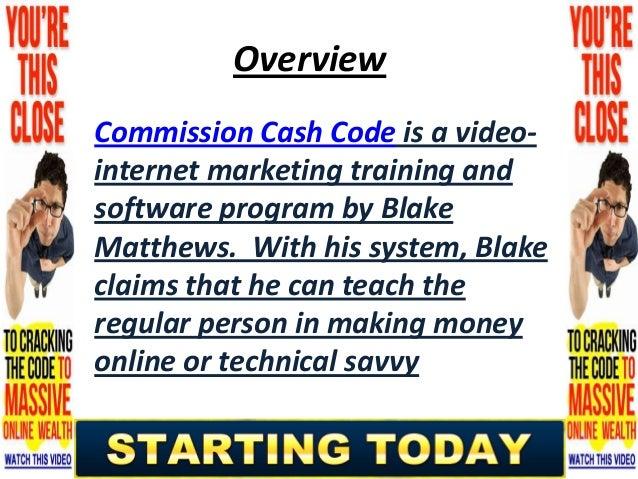 Read Commission Cash Code Review | Check Out Commission Cash Code Slide 2