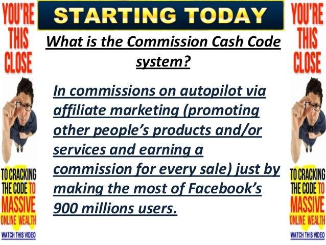 Read Commission Cash Code Review | Check Out Commission Cash Code Slide 3
