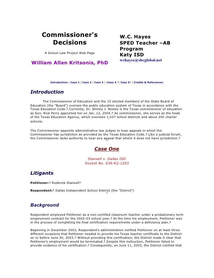 Commissioner's                                           W.C. Hayes          Decisions                                    ...