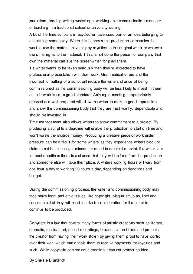 College essays on community service