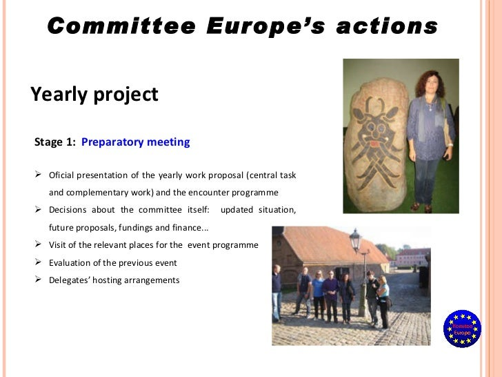 Yearly project Stage 1:   Preparatory meeting <ul><li>Oficial presentation of the yearly work proposal (central task and c...
