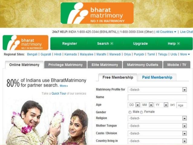 Shaadi registration user login submit