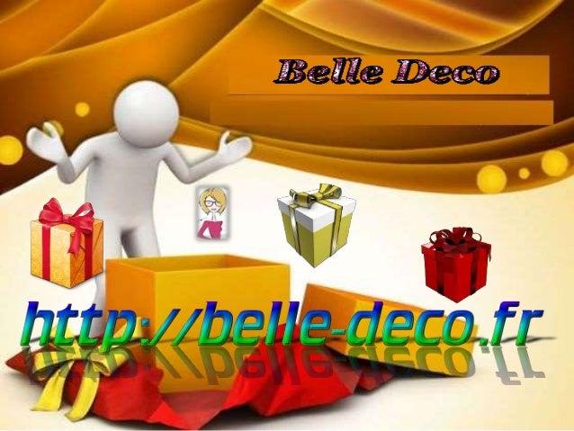 Belle-deco vous propose une sélection d'articles  de décoration et de petits mobilier pour  l'aménagement et la deco de vo...