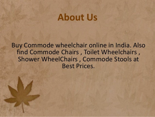 Commode wheelchair, buy commode wheelchair online in india - wheelc…