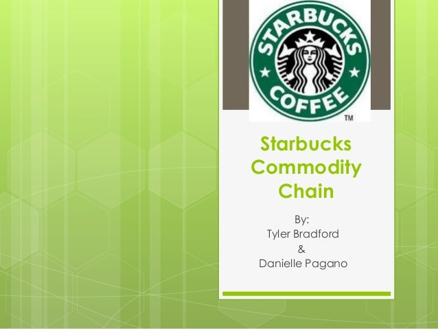 Starbucks Commodity Chain By: Tyler Bradford & Danielle Pagano