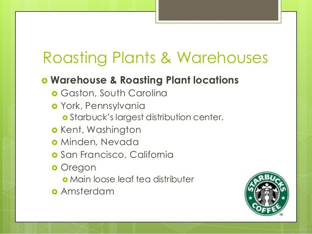 starbucks transportation methods Werc certification awarded starbucks and ohl facilities starbucks coffee com-pany with ohl have been  tions, including transportation, warehousing, cus.