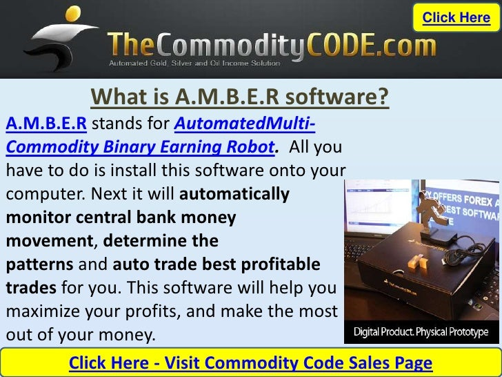 Best Commodity Trading Software – The Commodity Code AMBER Software