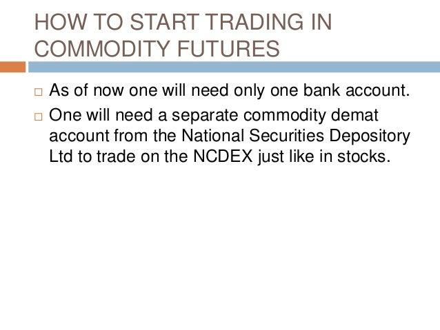 Commodity option trading india