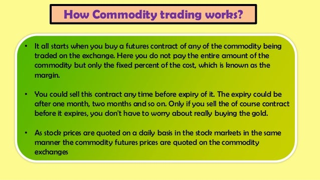 How the futures markets work pdf