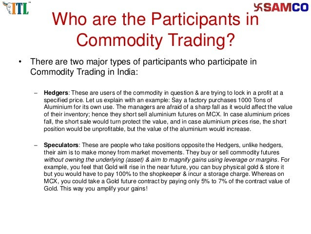 Open Online Commodity Trading Account in Indian Commodity ...