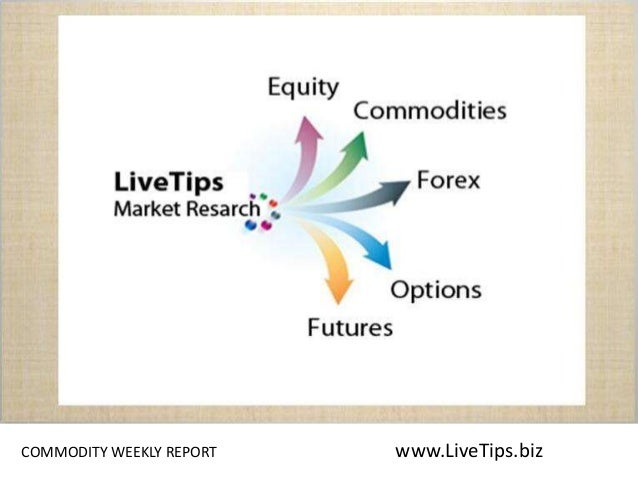 Commodity weekly script COMMODITY WEEKLY REPORT www.LiveTips.biz