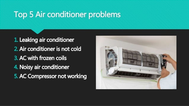 DIY: Fixing Common Air Conditioner Problems