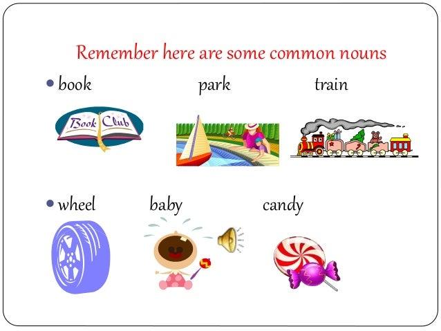 Common Proper Nouns