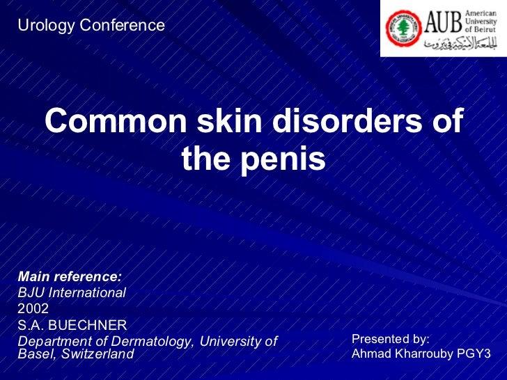 penis skin disorders