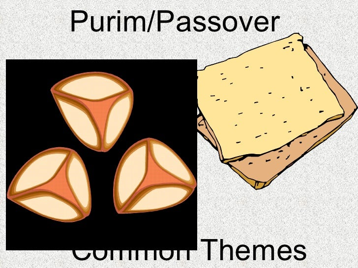 Purim/Passover  Common Themes