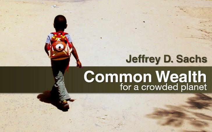 Common Wealth Jeffrey Sachs