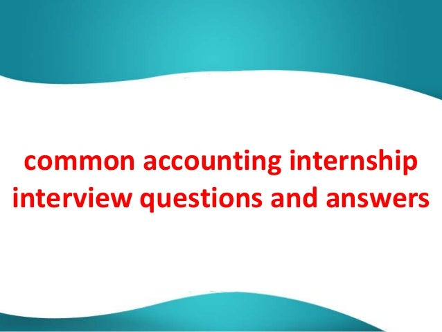 it internship interview questions and answers pdf