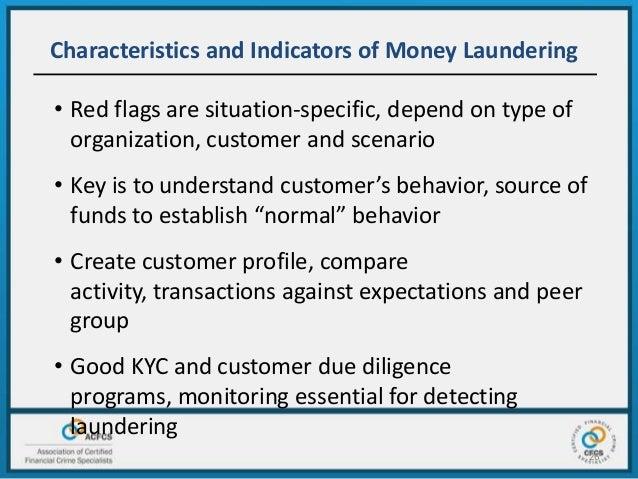 Commonalities Money Laundering Ethics International