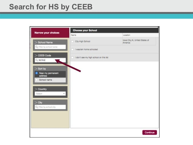 ferpa form common app  The Common Application: Updates 9-9