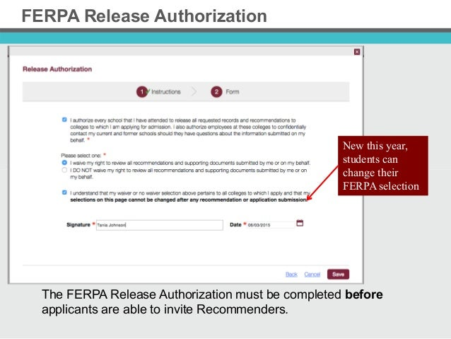 the common application  updates 2015